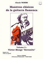 Maestros clasicos de la guitarra flamenca Vol.3 : Serranito Sheet Music