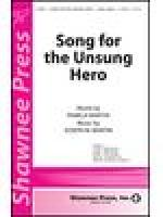 Song for the Unsung Hero Sheet Music