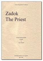 Zadok the Priest Sheet Music