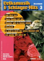 Volksmusik & Schlager-Hits 3 Band 3 Sheet Music