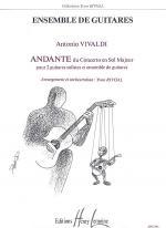 Andante Du Concerto En Sol Majeur Sheet Music