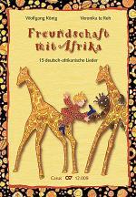 Konig / te Reh: Freundschaft mir Afrika. 15 deutsch-afrikanische Lieder Sheet Music