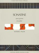 Sonatine Sheet Music