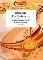 Officium Pro Defunctis Sheet Music
