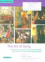 The Art of Song (Grades 4-5, medium low voice) Sheet Music