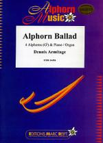 Alphorn Ballad (4 Alphorns in Gb) Sheet Music