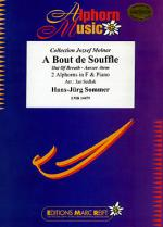 A Bout de Souffle (2 Alphorns in F) Sheet Music