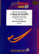 A Bout de Souffle (2 Alphorns in Gb) Sheet Music