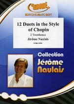 12 Duets in Style of Chopin Sheet Music
