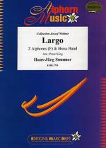 Largo (2 Alphorns in F Solo) Sheet Music