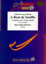 A Bout de Souffle (2 Alphorns in F Solo) Sheet Music