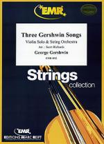 Three Gershwin Songs Sheet Music