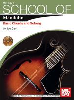 School of Mandolin: Basic Chords and Soloing Book/CD Set Sheet Music