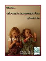 Irish Tunes for Pennywhistle & Flutes Sheet Music