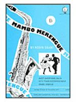 Mambo Merengue for Alto Saxophone Sheet Music