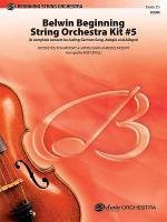 Belwin Beginning String Orchestra Kit #5 (score only) Sheet Music