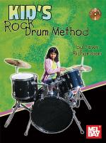 Kid's Rock Drum Method Book/CD Set Sheet Music