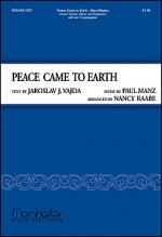 Peace Came to Earth Sheet Music