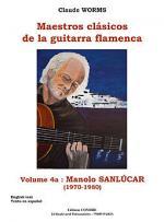 Maestros clasicos de la guitarra flamenca Vol.4A : Manolo Sanlucar Sheet Music