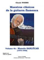 Maestros clasicos de la guitarra flamenca Vol.4B : Manolo Sanlucar Sheet Music