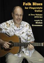 Folk Blues For Fingerstyle Guitar 2-DVD Set Sheet Music