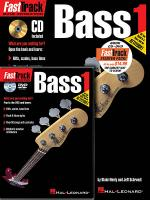 FastTrack Bass Method Starter Pack Sheet Music