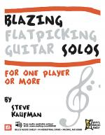 Blazing Flatpicking Guitar Solos for one Player or More Sheet Music