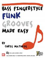 Bass Fingerstyle Funk Grooves Made Easy Sheet Music