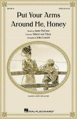 Put Your Arms Around Me, Honey Sheet Music