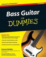 Bass Guitar for Dummies, 2nd Edition Book/CD Set Sheet Music