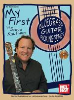My First Bluegrass Guitar Picking Songs Book/CD Set Sheet Music