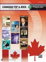 Canadian Pop & Rock Sheet Music Playlist Sheet Music