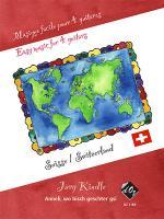 Musique facile pour 4 guitares - Suisse (Anneli) Sheet Music