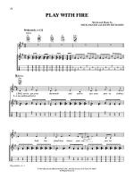 Play With Fire Sheet Music