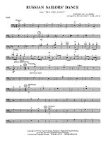 Russian Sailors' Dance: String Bass Sheet Music