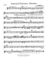 America! Patriotic Themes (as played at Disney World): 2nd Violin Sheet Music