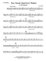 Two South American Tangos: 3rd Trombone Sheet Music