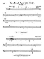 Two South American Tangos: Tuba Sheet Music