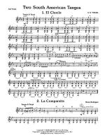 Two South American Tangos: 2nd Violin Sheet Music
