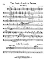 Two South American Tangos: Viola Sheet Music
