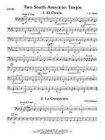 Two South American Tangos: 2nd Cello Sheet Music