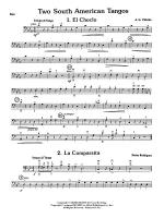 Two South American Tangos: String Bass Sheet Music