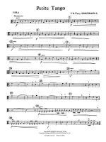 Petite Tango: Viola Sheet Music