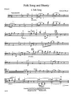 Folk Song and Shanty: Cello Sheet Music