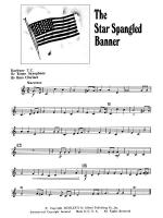 The Star Spangled Banner: Baritone T.C. Sheet Music