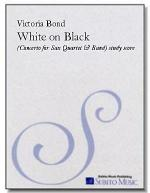 White on Black Sheet Music