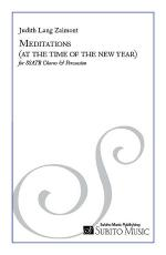 Meditations (at the time of the new year) Sheet Music