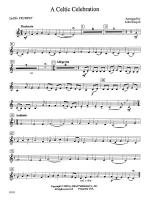 A Celtic Celebration: 2nd B-flat Trumpet Sheet Music