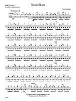 Fiesta Blues: 2nd Percussion Sheet Music