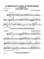A Christmas Carol in Bethlehem: Flute Sheet Music